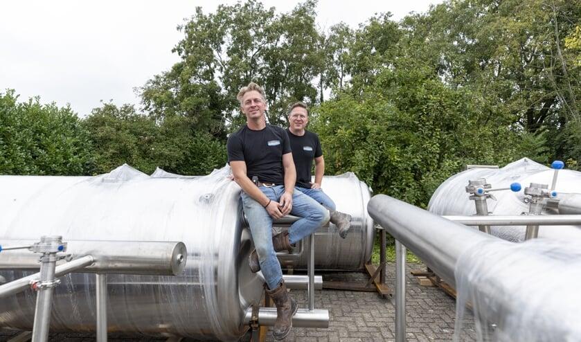 Hans Anton en Clement Verschoor gaan onder de naam De Magistraat bier brouwen.