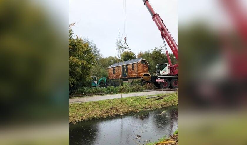 <p>&bull; Het vervoer van een tiny house in de regio.</p>