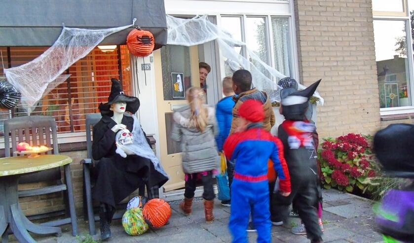 • Halloween in de Oostpolder van enkele jaren geleden.