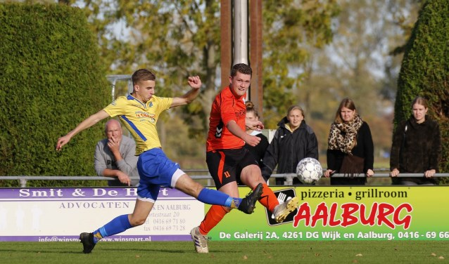 • GDC - Vuren (3-0). Foto: Eric Schröder © regiosport