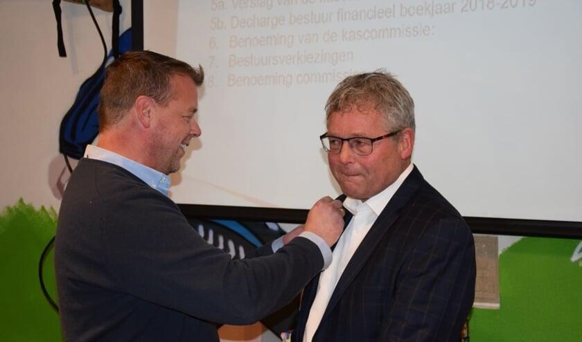 • Dieks Potuyt wordt benoemd tot erelid van vv Bergambacht.