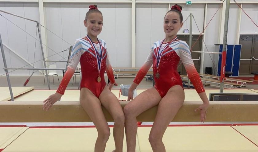 • Er waren podiumplaatsen voor Lisa Nieboer (goud) en Lieve Bruinenberg (brons).