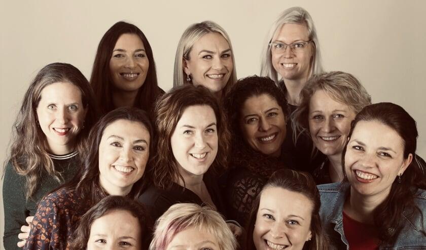 • De dames van Ladies' Circle Alblasserwaard.