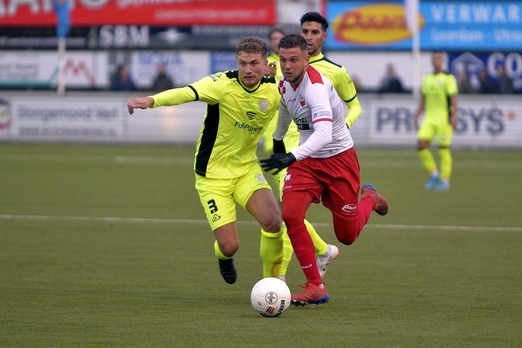 • Kozakken Boys - IJsselmeervogels (1-3). Foto: Teus Admiraal © regiosport