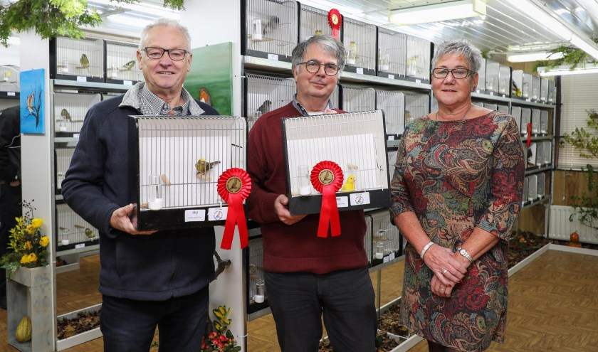 Jaarlijkse tentoonstelling Vogelvereniging De Edele Zangers