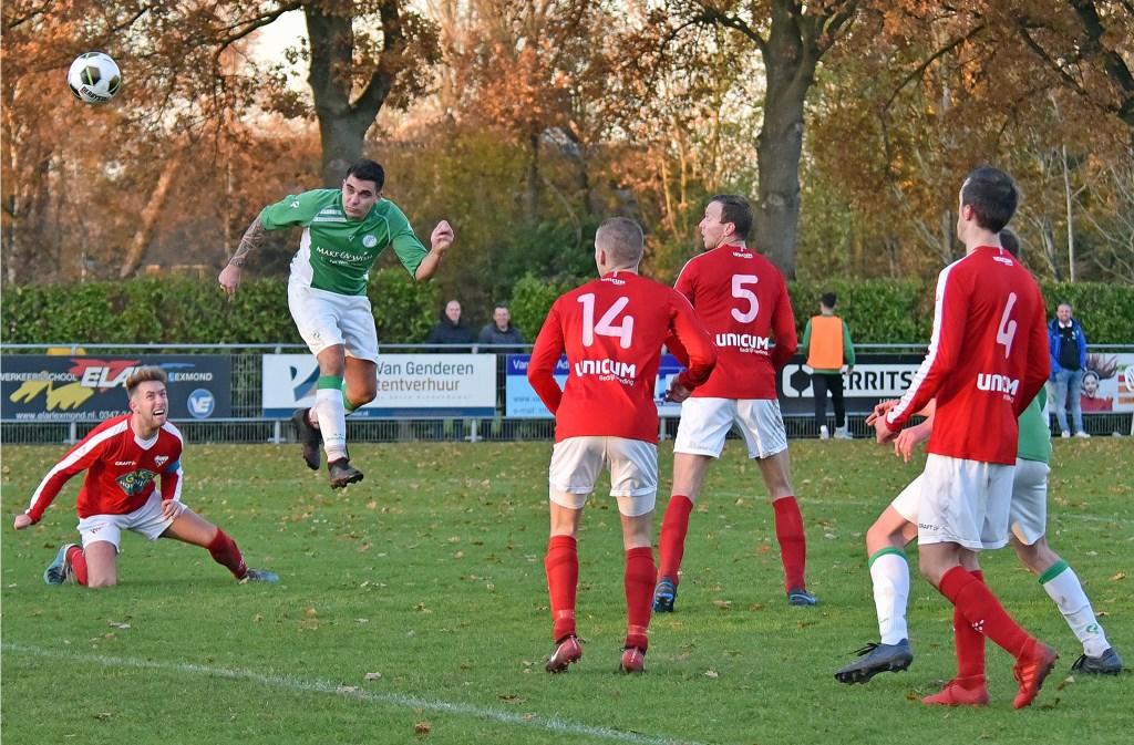 • SC Everstein - Jonathan (0-3). Foto: Peter Verbeek © regiosport