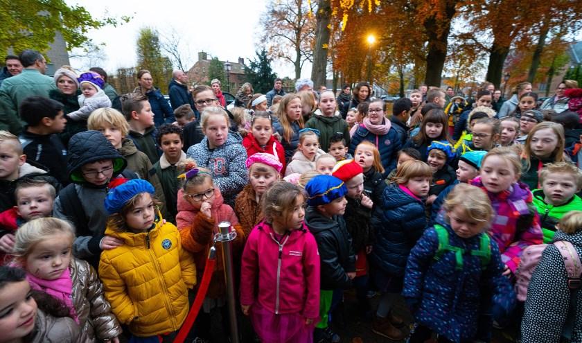 Opening Sinterklaashuis in Asperen