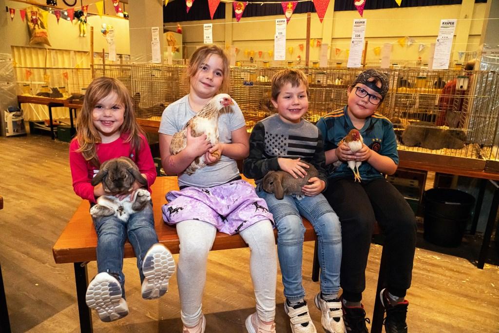 Kleindierenshow Nieuw-Leven Asperen Foto: Nico Van Ganzewinkel © Leerdam