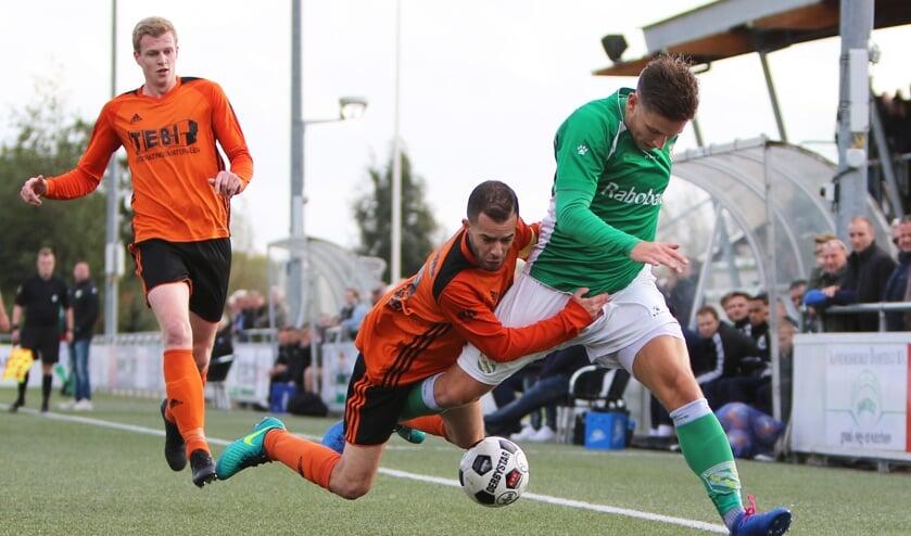 • Nieuw-Lekkerland - Montfoort SV'19 (1-1).