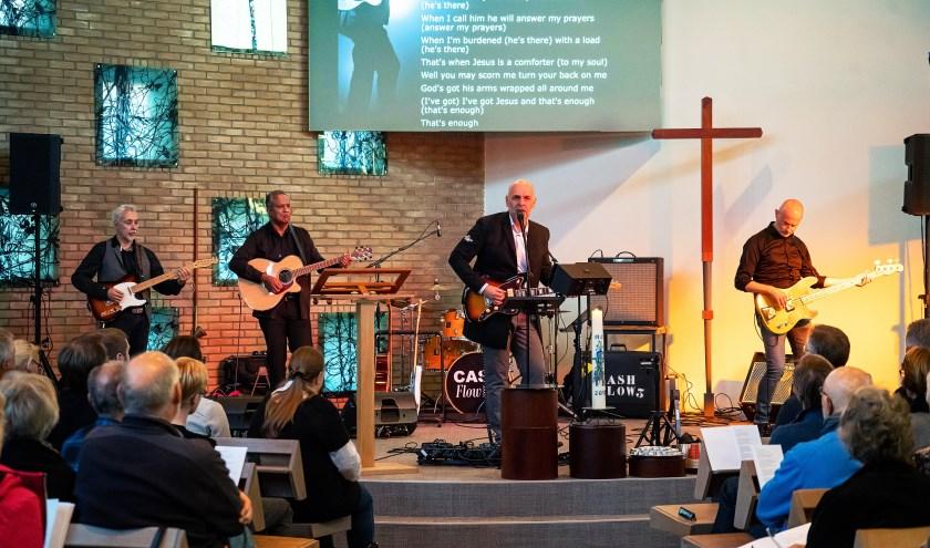 Johnny Cash-dienst in  Leerdamse Bethelkerk
