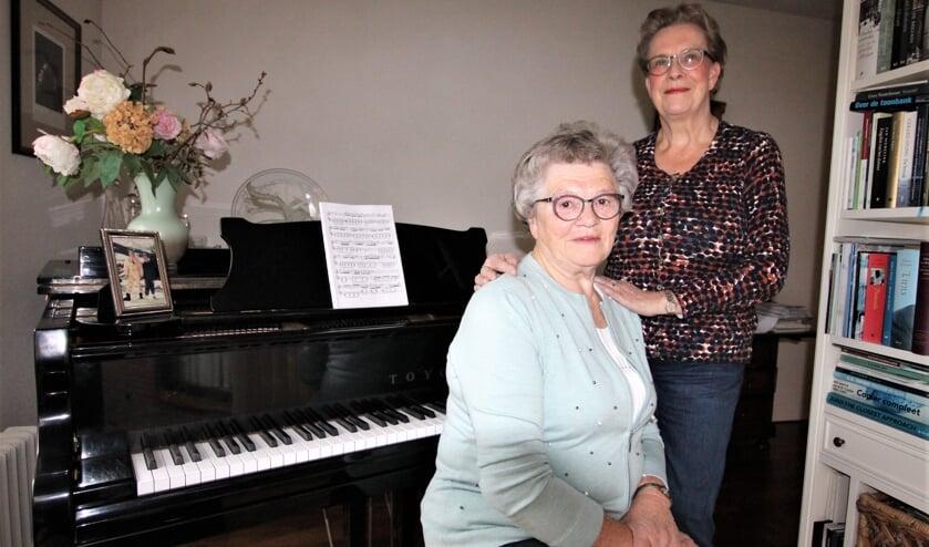 • Wijna Speksnijder en Lenie van der Wal van l'Espérance.