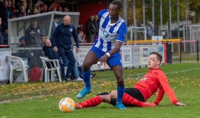 • De Zwerver - SVS (0-1). Foto: Peter Lodder © regiosport