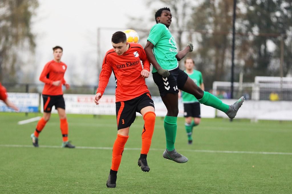• SV Noordeloos - Vuren (2-5). Foto: Rick den Besten © regiosport