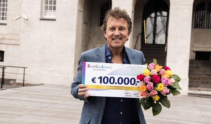 Robert ten Brink, ambassadeur van de BankGiro Loterij.