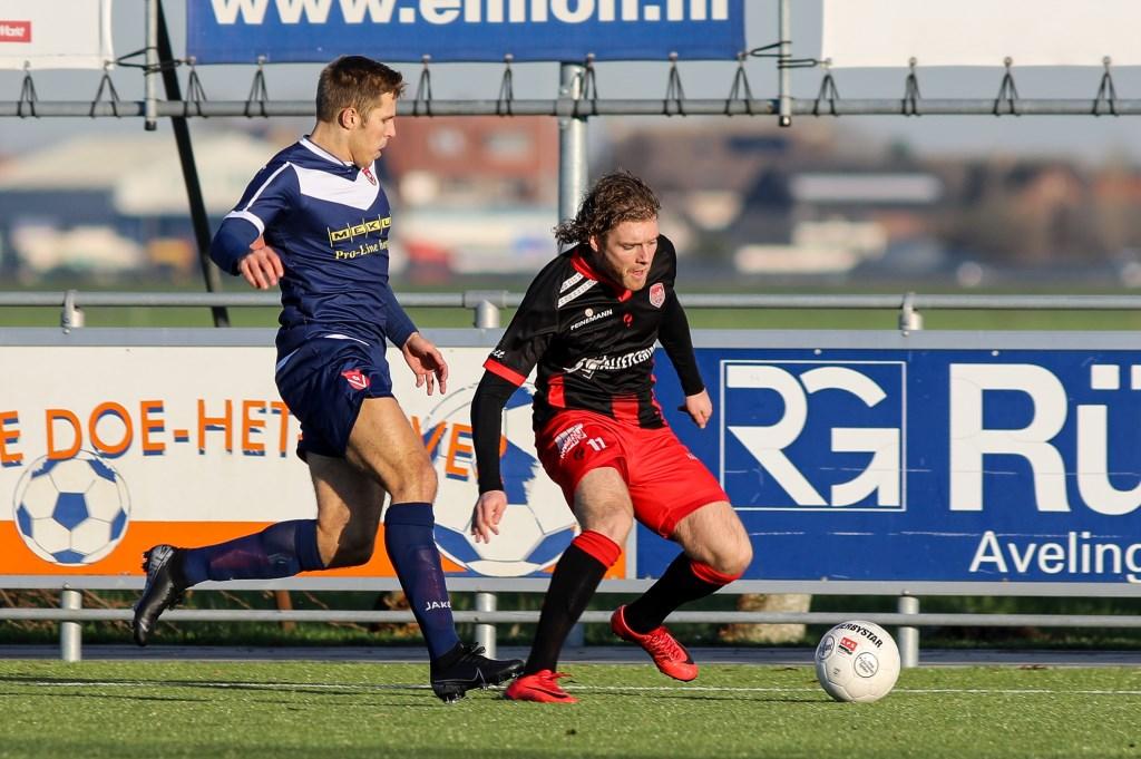 • SteDoCo - Harkemase Boys (1-3). Foto: Rick den Besten - Regio-Voetbal © regiosport