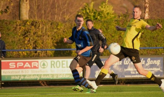• Streefkerk - FC Perkouw (5-2). Foto: Cora Stout © Krimpenerwaard
