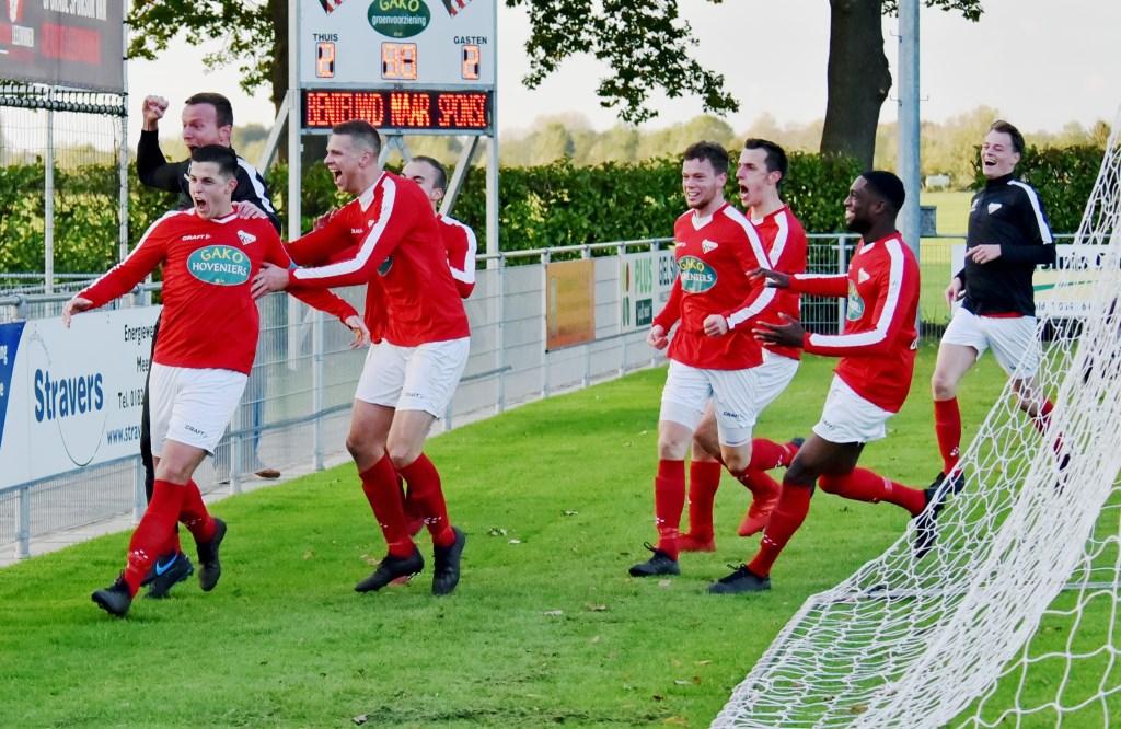 • SC Everstein - HSSC'61 (3-2). Foto: Peter Verbeek © regiosport
