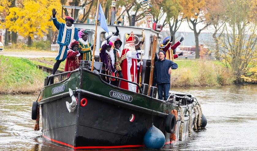 Aankomst Sint Nicolaas in Vianen
