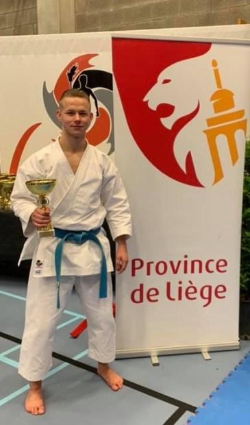 • Rick Sonnema verzekerde zich in Luik van het brons.