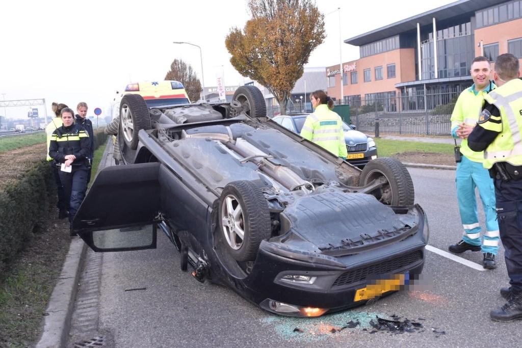 • Wonder boven wonder zijn er geen gewonden gevallen. Foto: Hans Verbeek/Meesters Multi Media © Bommelerwaard