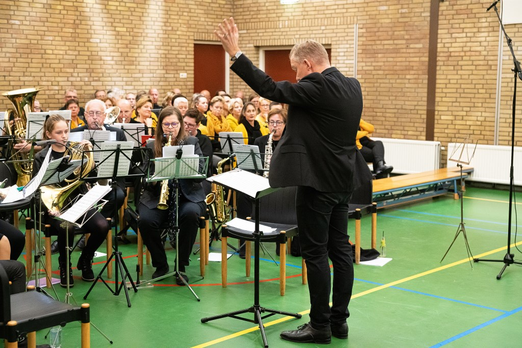 Concert fanfare Excelsior Hagestein Foto: Nico Van Ganzewinkel © Vianen