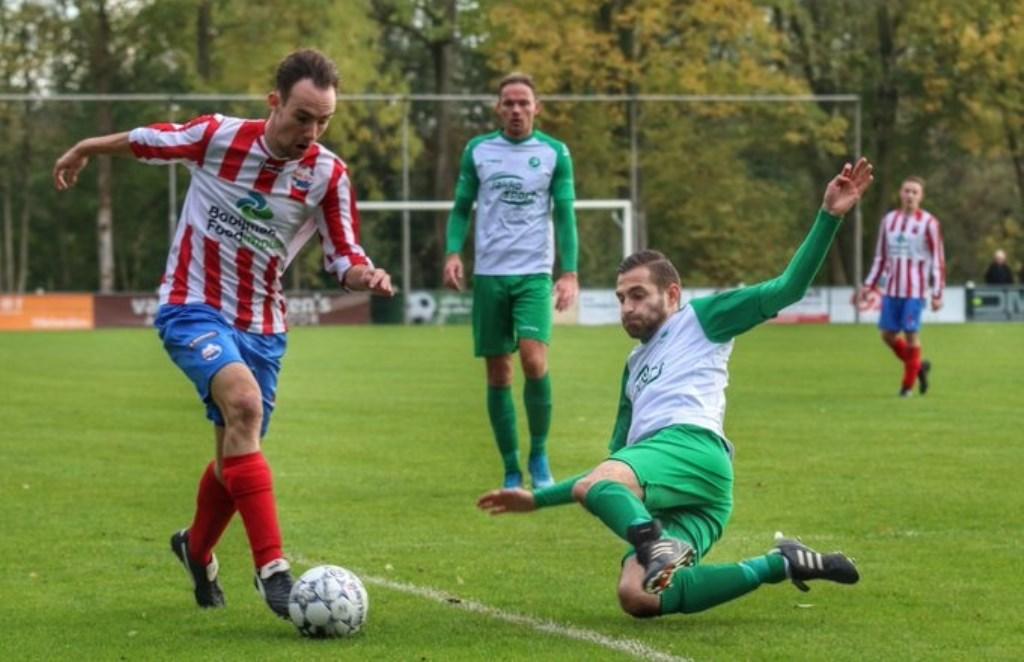 • Woudrichem - Roda Boys (1-1). Foto: Gerald van Zanten © regiosport
