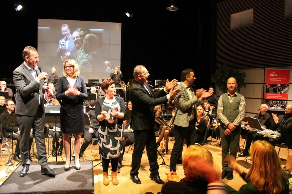 • Hans Laheij werd uitgeroepen tot winnaar. Foto: Wijnand Buursema © Klaroen