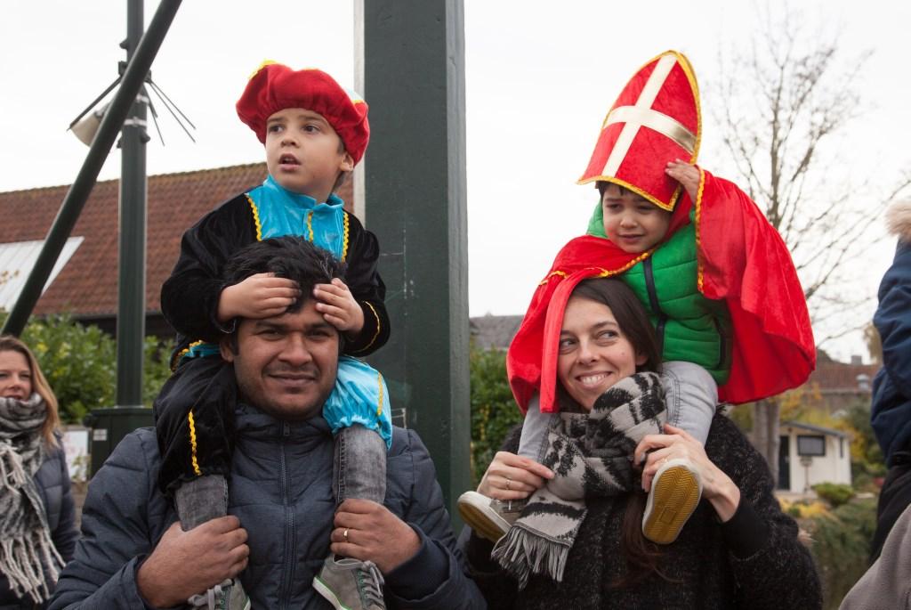 • Intocht Sint in Haastrecht Foto: Janet de Graas © Krimpenerwaard