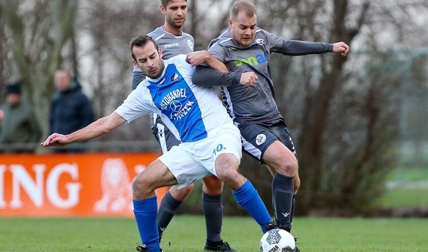 • Beeld uit de derby ASH-Herovina van vorig seizoen.