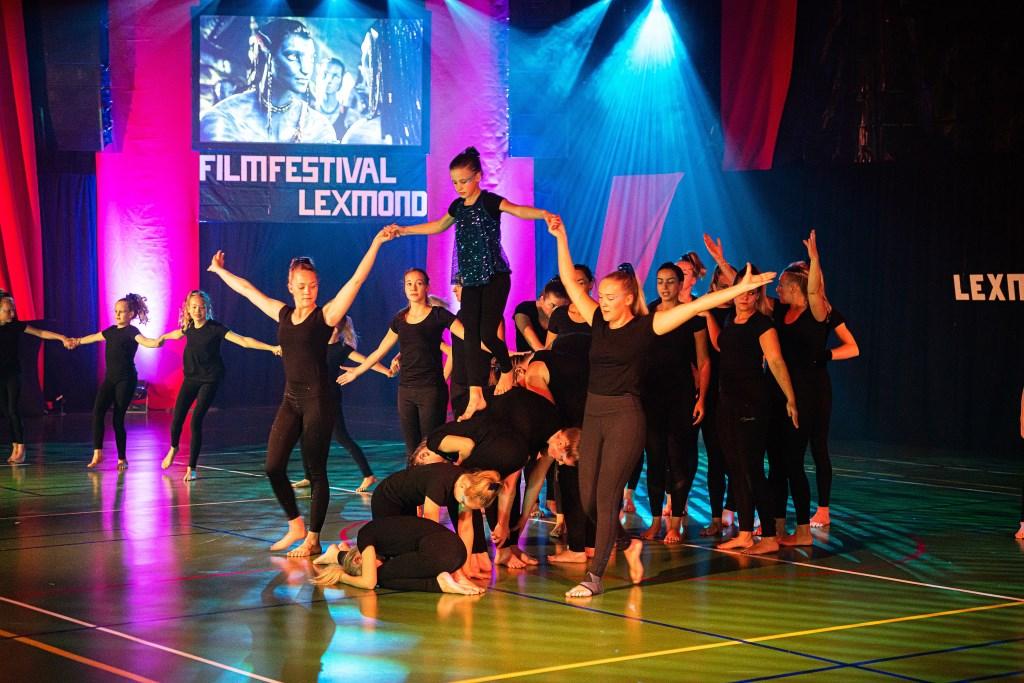 Uitvoering gymvereniging V.E.K. Lexmond Foto: Nico Van Ganzewinkel © Alblasserwaard
