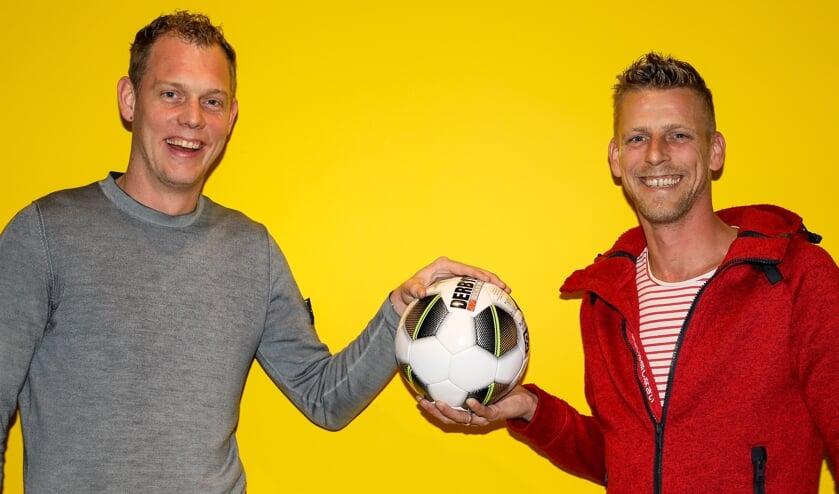 • De derby SV Meerkerk-Ameide is ook een strijd tussen de zwagers Ruud de Groot en Sander Vink.