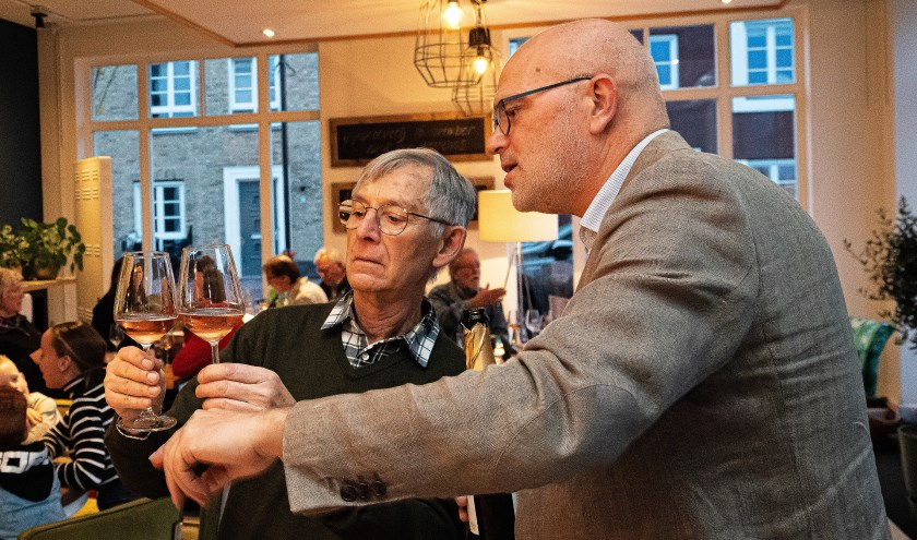 Wijnproeverij in de Keuken van Hoef en Haag