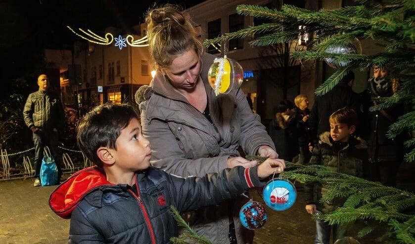 • Joris' Kerstboom in 2018.