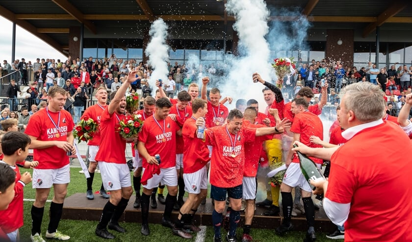 • Nivo Sparta promoveerde afgelopen seizoen als kampioen van 2F naar de eerste klasse.