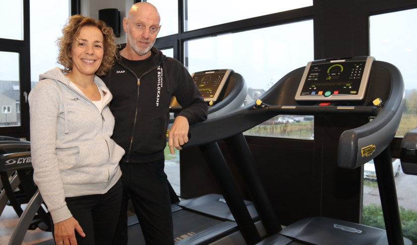 • Thea en Jaap Bogerd zijn trots op hun fitnesscentrum.