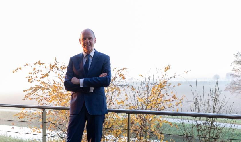 Marcel Fränzel neemt deze week afscheid als waarnemend burgemeester van de gemeente Altena.