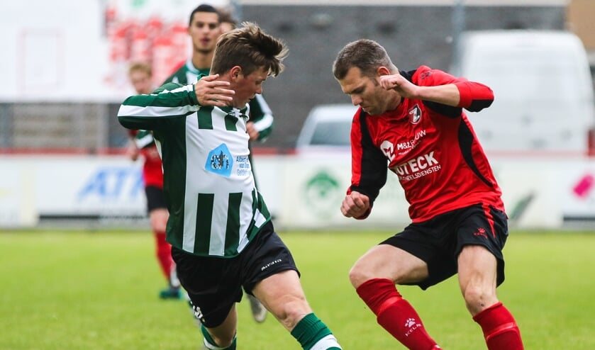 • Arie Tuijtel in 2016 als speler van De Zwerver.