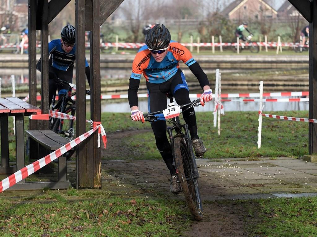 • Ruben van der Stelt in actie. Foto: aangeleverd © Heusden en Altena
