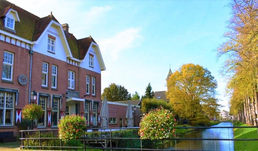 • Het Oude Posthuys aan de Meent in Leerdam.