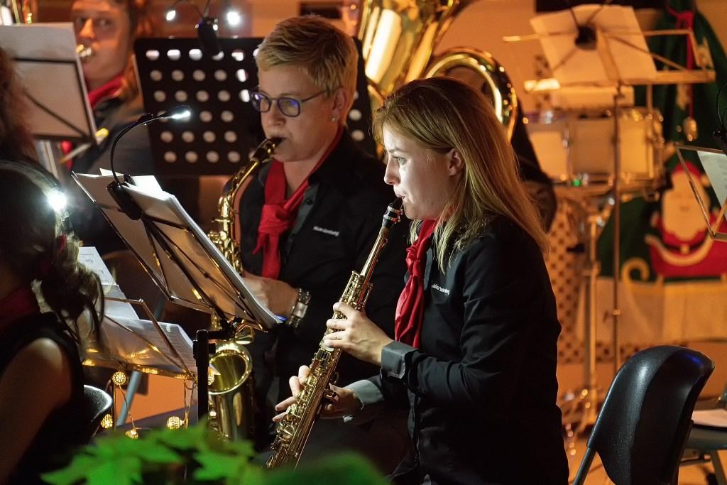 Fanfare Juliana Waardenburg, Sinter-Kerstconcert  © Leerdam