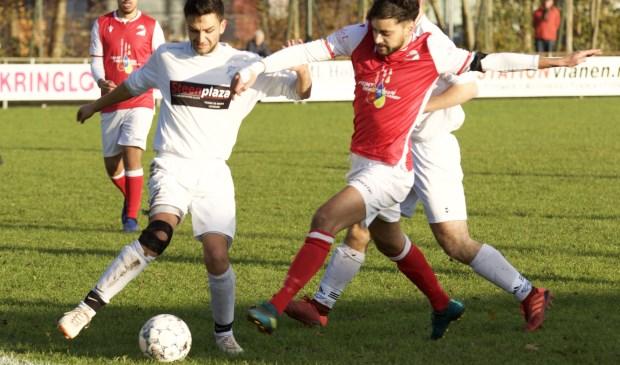 • Leerdam Sport - Lekvogels (1-1). Foto: Arie Stutz © regiosport