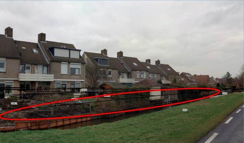 • De onderhoudsstrook achter de woningen aan de Laan van Lezoux is bij de tuinen getrokken.