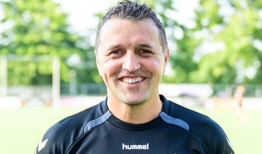 • Sliedrecht-trainer Dennis van der Steen.