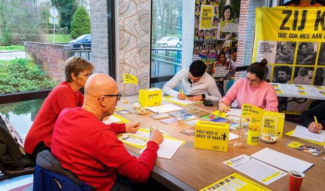 Write for Rights Foto: Nico Van Ganzewinkel © Vianen