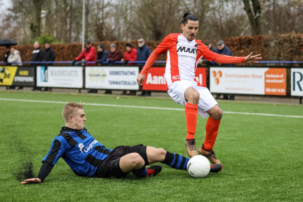 • Streefkerk - Alblasserdam (1-3). Foto: Rick den Besten © regiosport