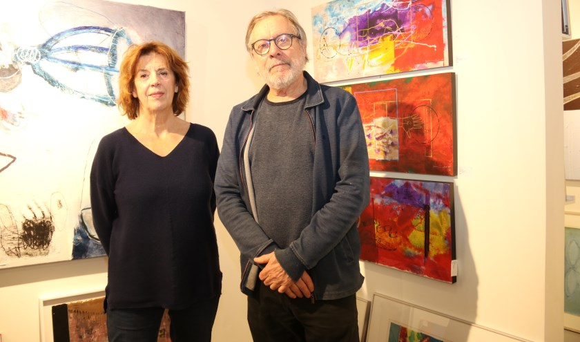 • Lon Buttstedt en echtgenoot Gert Strengholt.