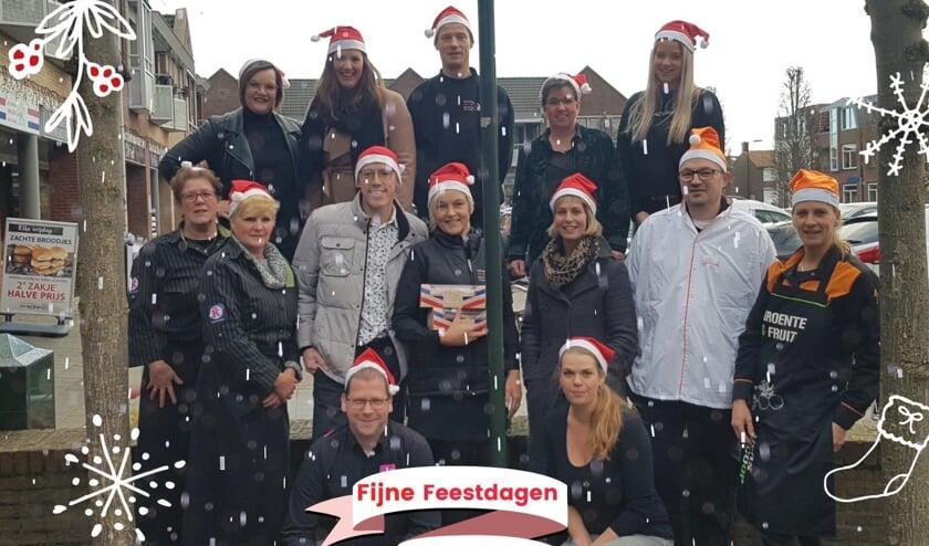 • De ondernemers van de Decemberactie in Groot-Ammers.