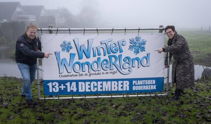 • Henk Vergeer en Margriet Vonk Noordegraaf; de mensen achter Winter Wonderland Ouderkerk.