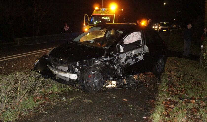 • Eén van de bij het ongeval betrokken auto's.
