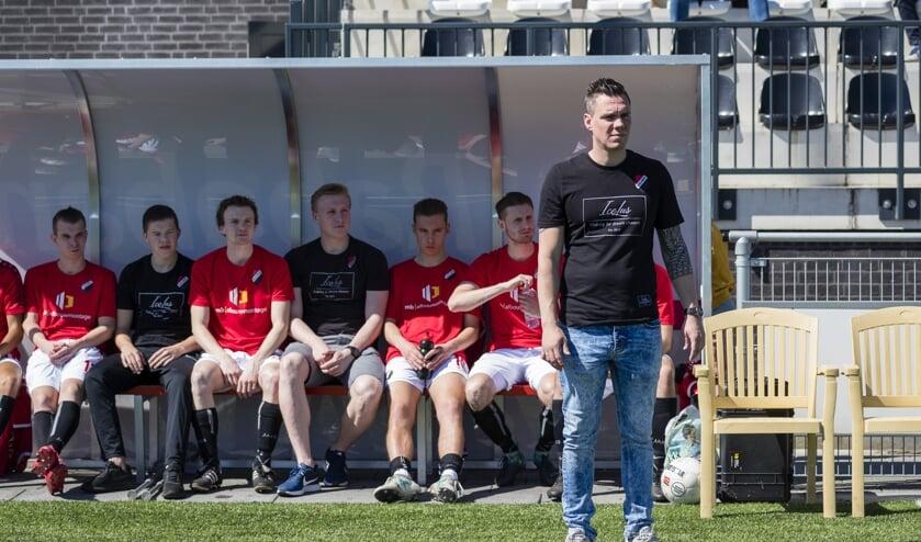 • Niels Blom als trainer/coach van Nivo Sparta 2.